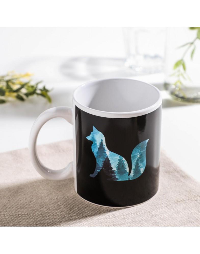 Кружка-хамелеон Доляна «Таинственная лиса»