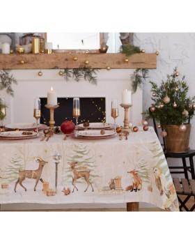 """Скатерть """"Christmas forest"""""""