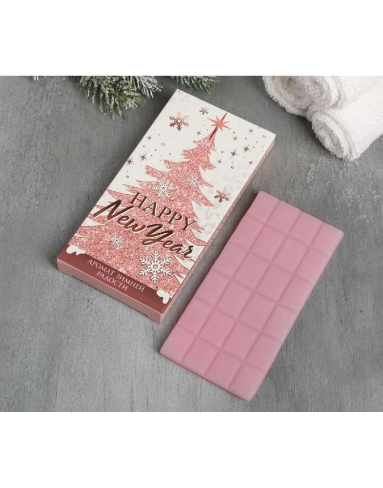 Мыло-шоколад Happy New Year