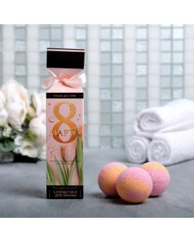 Бомбочки для ванны с ароматом персика