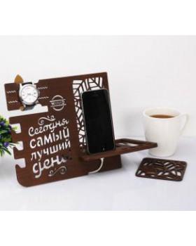 """Органайзер настольный """"Самый лучший день"""""""