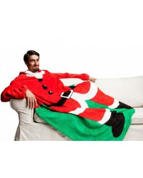 Плед с рукавами Санта